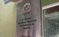 Cartório do 2° Oficio de Nobres  suspende atendimento  presencial