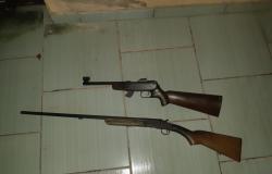 Policia prende homem  por roubo  de armas na zona  rural de Nobres