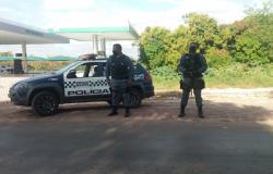 Motorista  é preso em Rosário Oeste no  bloqueio da PM
