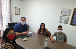Zilmai solicita ao senador Carlos Fávaro recursos para aquisição de patrulha mecanizada para aldeia Bakairi e 120 toneladas de lama asfáltica