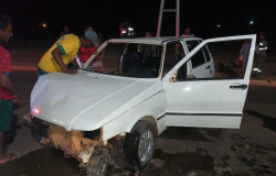 Menor provoca acidente por suspeita de embriaguez no Jardim Petrópolis
