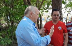 Botelho reforça campanha de Leocir e garante investimentos para substituição de pontes de madeira por estruturas de concreto
