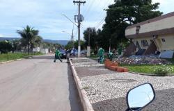 Reeducando que presta serviço para prefeitura assalta Drogaria  no centro de Nobres