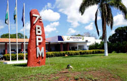 7º BPM  entrega reforma e revitalização de quartel em Rosário Oeste