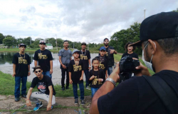 Alunos de projeto cultural gravam clip sobre Rosário Oeste