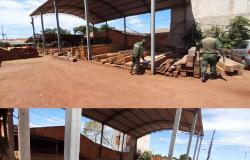 Batalhão Ambiental identifica irregularidades e multa madeireira em R$ 33,3 mil