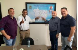 Senador Carlos Fávaro garante apoio para obras de construção do Pronto Atendimento em Nobres