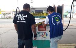 Operação conjunta autua posto de combustível por venda de etanol adulterado