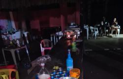 Veículo da Vigilância Sanitária é sabotado durante  dispersão de pessoas em Rosário Oeste