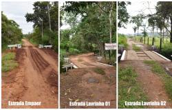 Prefeito Alex constrói 3 pontes na zona rural de Rosário Oeste
