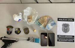 Polícias Civil e Militar cumprem prisões e buscas contra grupo criminoso envolvido em tortura em Rosário Oeste