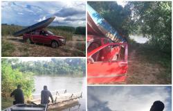 Polícia Militar  recupera barco e motor de popa  furtados em Rosário Oeste