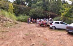 Secretaria de Fiscalização e Policia Militar fizeram dispersão de pessoas em rio de Nobres