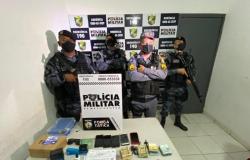 PM desmonta organização criminosa e prende cinco por  desvio de carregamento de soja