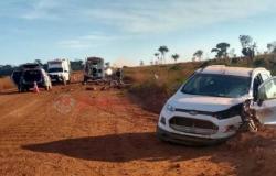 Acidente  frontal  mata motociclista na BR-174, na zona rural de Juína.