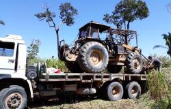 Polícia Civil e Sema em combate ao desmatamento ilegal