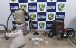 Força Tática prende homem por comercializar  produtos  de furtos fornecidos  por caminhoneiros na região de Nobres ; veja fotos
