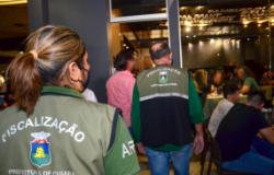 Em Cuiabá trabalho de fiscalização às medidas de biossegurança; Boate leva R$ 120 mil em multa