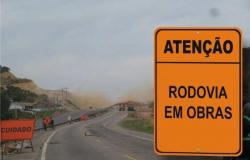 BR-364 será interditado para detonação de rocha  em Nobres