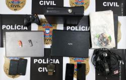 Alvo de operação contra pedofilia é preso em flagrante