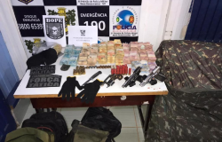 PM recupera R$ 164,7 mil com suspeitos que morreram durante confronto