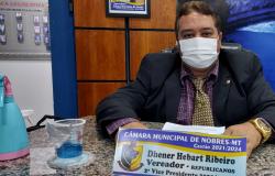 Dr.Dhener pede contratação de nove Agentes Comunitários em Nobres