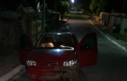 Acidente entre carro e moto  deixa motociclista gravemente ferido em Nobres