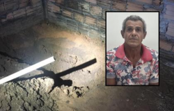 Preso homem que matou esposa a marretada e tijolada no interior de MT