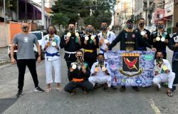 Em um mês, atletas do projeto social da PM >Jiu-Jitsu Rotam> conquistam 29 medalhas em São Paulo
