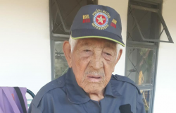 PM lamenta o falecimento do soldado  Argemiro do Nascimento de 103 anos de idade