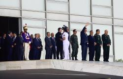 Desfile de blindados evidencia fraqueza de um presidente acuado