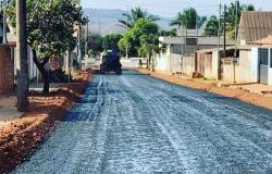 Jardim Paraná  pavimentação asfaltica, terá 100%  de ruas asfaltadas