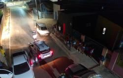Operação conjunta dispersa aglomerações em Nobres; veja fotos