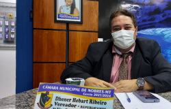 Projeto de Lei apresentado por Dr.Dhener é aprovado na Câmara de Nobres