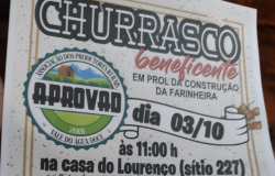 Associação Vale do Água Doce realiza almoço com churrasco beneficente em Nobres