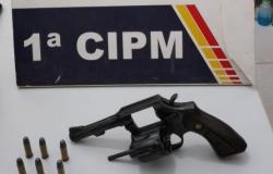 PM prende três pessoas com revólver  em frente a resort na Lagoa do Manso