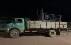 Motorista é preso por crime ambiental transportando 250 estacas de angico