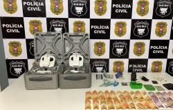 Casal responsável por lançar drogas e celulares em penitenciária é preso em flagrante