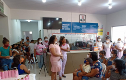Outubro Rosa reúne segmento feminino  no Jardim Petrópolis