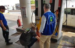 Postos de combustíveis da região metropolitana são alvo de fiscalizações
