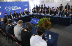 Mauro Mendes é eleito presidente do Consórcio Brasil Central