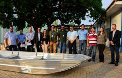 Sema entrega barcos a 30 municípios para fortalecer fiscalização em rios de MT