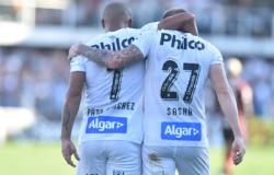 Santos atropela o Flamengo e fica com o vice do Brasileiro