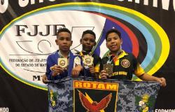 Atletas do >Jiu Jitsu Rotam> conquistam 49 medalhas em competição estadual