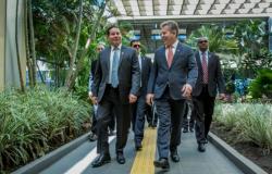 Em Cuiabá, Mourão trata de meio ambiente e o desenvolvimento da Amazônia Legal