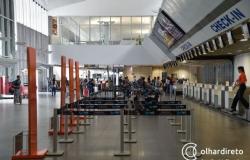 Aeroporto Marechal Rondon tem 38 voos cancelados nesta segunda-feira