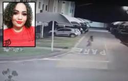 Vídeo mostra jovem correndo do ex antes de ser morta em condomínio