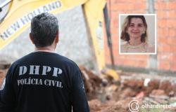 DHPP tentará novamente encontrar corpo de estudante de direito morta pelo ex-namorado