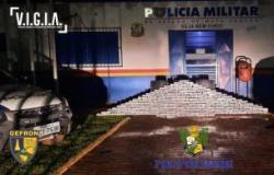 R$ 8 MILHÕES DE PREJUÍZO Caminhoneiro é pego transportando 245 kg de cocaína em cidade de MT