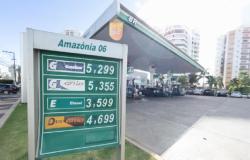 Litro da gasolina chega a R$ 5,29 em postos de combustíveis de Cuiabá